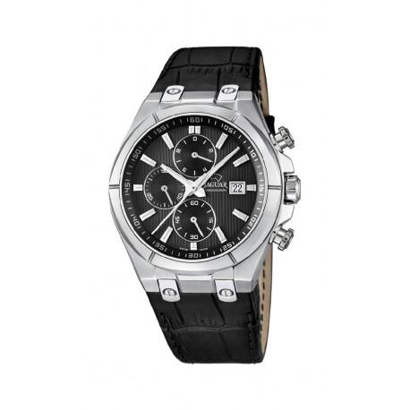 Reloj Jaguar hombre  J667/4 analogico, acero, correa piel