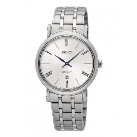 Reloj Seiko mujer SXB429P1 Premier, acero, reloj analogico