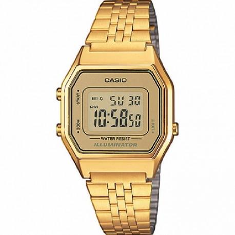 Reloj Casio mujer LA680WEGA-9ER dorado, vintage