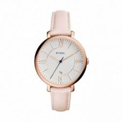 Reloj Fossil mujer ES3988 acero, correa de piel, analogico
