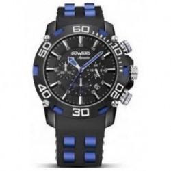 Reloj Duward Aquastar C-D85508.55 aluminio acero y caucho, reloj analogico