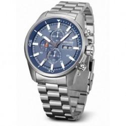 Reloj Duward Aquastar D95518.05 hombre de acero, reloj analogico