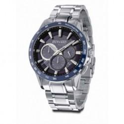Reloj Duward Aquastar D95527.05 acero, hombre, reloj analogico, crono