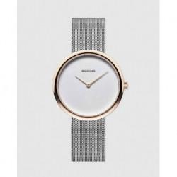 Reloj Bering mujer 14333-064 acero, reloj analogico, malla milanesa