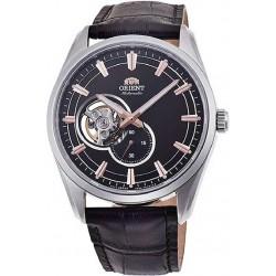 Reloj Orient automatico 147-RA-AR0005Y10B acero y cuero, reloj analogico