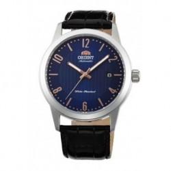 Reloj Orient automatico 147-FAC05007D0 acero y cuero, reloj analogico