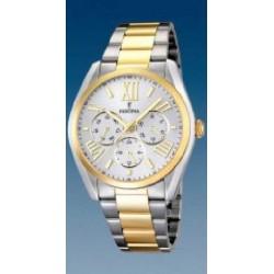 Reloj Festina hombre F16751/1 bicolor, acero, reloj analogico multifuncion