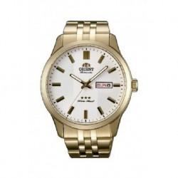 Reloj Orient automatico 147-RA-AB0010S19B dorado, reloj analogico