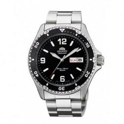 Reloj Orient automatico 147-FAA02001B9 acero, reloj analogico