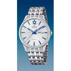 Reloj Festina hombre F20204/1 acero, reloj analogico