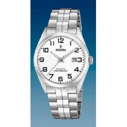 Reloj Festina hombre F20437/1 acero, reloj analogico