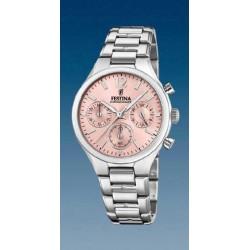 Reloj Festina mujer F20391/2 acero, reloj analogico multifuncion