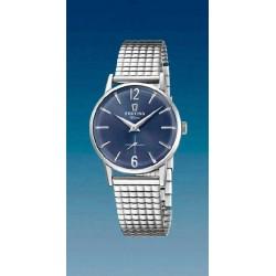 Reloj Festina mujer F20256/3 acero, reloj analogico, esfera azul