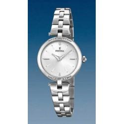 Reloj Festina mujer F20307/1 acero, reloj analogico, esf. plata