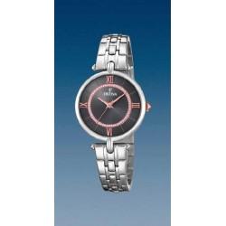 Reloj Festina mujer F20315/2 acero, reloj analogico esfera negra