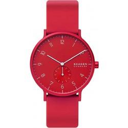 Reloj Skagen SKW6512 rojo, reloj analogico