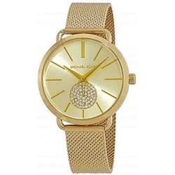 Reloj Michael Kors MK3844 acero, reloj analogico, dorado, circonitas