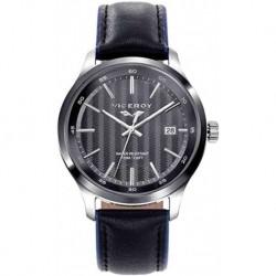 Reloj Viceroy hombre 471097-57 acero, reloj analogico, correa piel