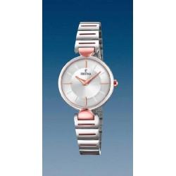 Reloj Festina mujer F20320/2 acero bicolor, reloj analogico