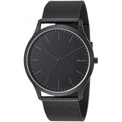 Reloj Skagen SKW6422, reloj analogico, acero pavonado en ip negro