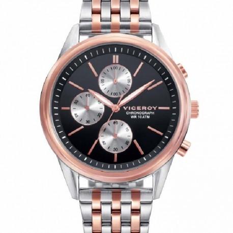 Reloj Viceroy hombre 401123-57 reloj Viceroy mujer bicolor