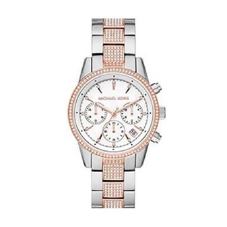 Reloj Michael Kors MK6651 acero bicolor, reloj analogico
