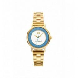 Reloj Mark Maddox MM7107-00 ip dorado, reloj analogico