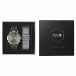Reloj Cluse hombre, pack reloj+malla CG1519501001