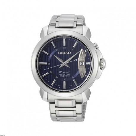 Reloj Seiko hombre SNQ157P1 Premier, calendario perpetuo