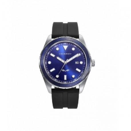 Reloj Viceroy Hombre  401199-37, reloj de acero y caucho