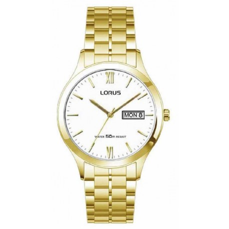 Reloj Lorus hombre RXN02DX9 reloj analogico, dorado