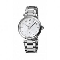 Reloj Sandoz mujer 72578-00 acero, analogico, cristal zafiro