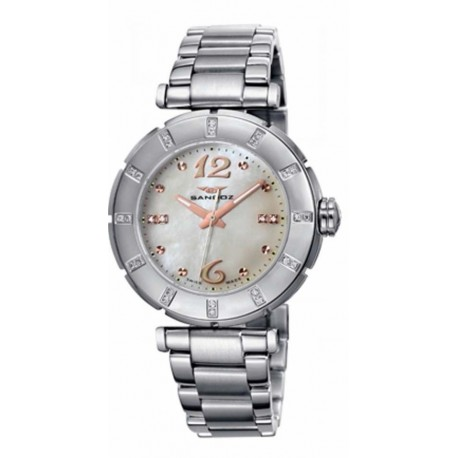Reloj Sandoz mujer 72568-70 acero, reloj  analogico
