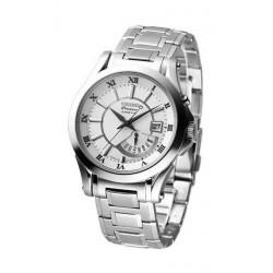 Reloj Seiko hombre SRN001 Premier, Kinetic, acero, reloj analogico