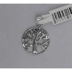 Colgante plata arbol 1,5cms