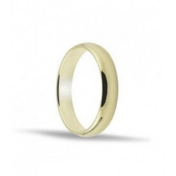 Alianza de oro amarillo 18ktes. 3 mm