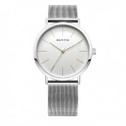 Reloj Bering mujer 13436-001 reloj analogico, malla milanesa