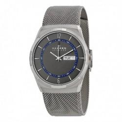 Reloj Skagen hombre SKW6078 reloj analogico, acero, malla milanesa