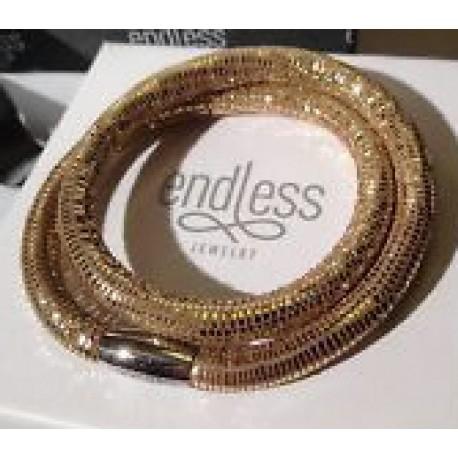 PULSERA 1001-40 ENDLESS GOLDEN REPTILE 40 CMS