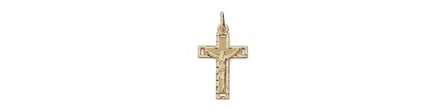 Descubre nuestra coleccion de Cruces de oro de 18 kilates.